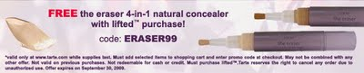 Free 4-in-1 Natural Concealer from tarte!