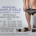Hanky Panky Annual Sample Sale!