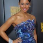 2009 American Music Awards: Alicia Keys' Makeup