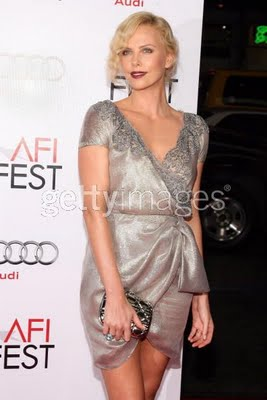 Get The Look: Charlize Theron at the AFI Screening of The Road