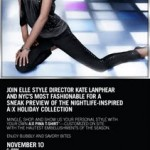 Join ELLE for a Sneak Preview of the Armani Exchange Holiday Collection