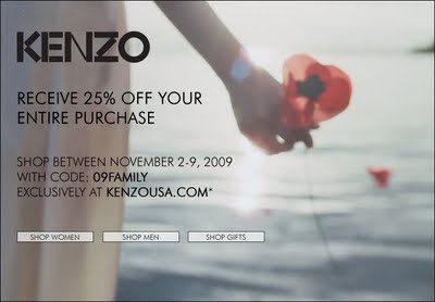 Kenzo Friends and Family