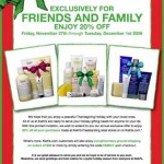 Kiehl's Friends & Family: 20% Off