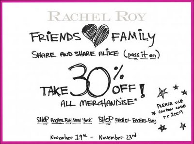 Rachel Roy Friends And Family Discount! | Rouge 18