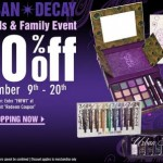Urban Decay Friends and Family 30% Discount