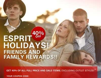 esprit family and friends