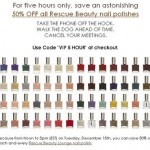 Rescue Beauty Lounge Discount Code: December 15 Only!
