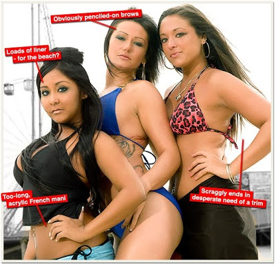 Jersey Shore Beauty Fails