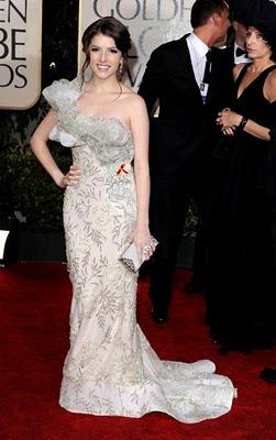 Golden Globes 2010 Fashion: Anna Kendrick