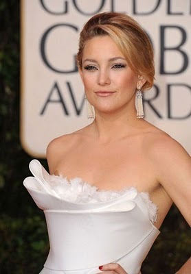 Golden Globes 2010 Beauty: Kate Hudson