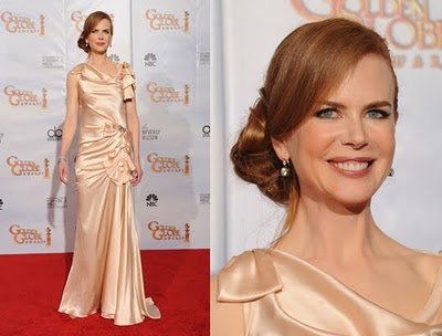 Golden Globes 2010 Beauty: Nicole Kidman
