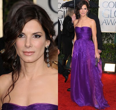 Golden Globes 2010 Beauty: Sandra Bullock