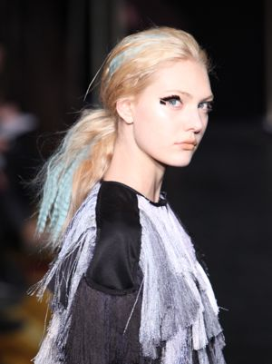 Fashion Week: Funky, Chunky Haircolor