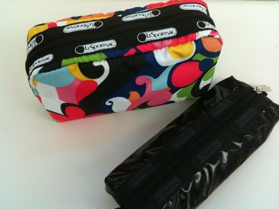 Giveaway: Win A Cosmetic Bag & Pencil Case From LeSportsac