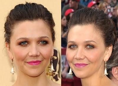 Maggie Gyllenhaal's 2010 Oscars Makeup Look