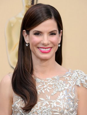 Oscars 2010 Hairstyle & Makeup: Sandra Bullock