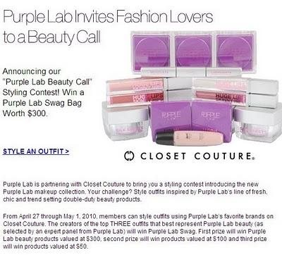Win $300 of Purple Lab Swag!