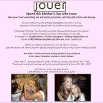 Journey to Jouer At Bendel's This Mother's Day!