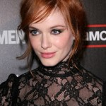"Christina Hendricks Wears New NARS Pure Matte Lipstick to ""Mad Men"" Season 4 Premiere"