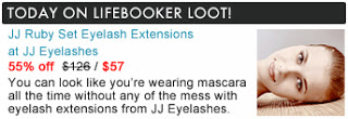 JJ Eyelashes For 55% Off!