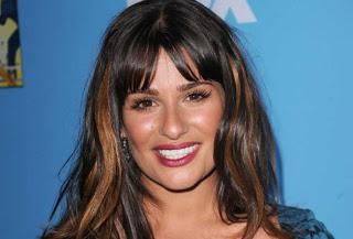 Lea Michele Wears NARS Volga Pure Matte Lipstick To Glee Premiere!