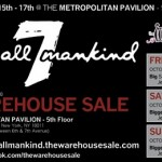 Seven for All Mankind Sample Sale