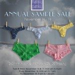 Save The Date: Hanky Panky Sample Sale