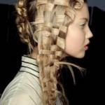 Basket-woven Hair at McQueen's Spring 2011 Show