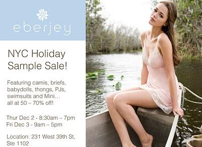 Eberjey Sample Sale!