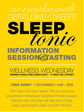 Geraldine O'Keefe to Present at Norma Kamali's Wellness Cafe