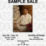 Minnie Rose Sample Sale