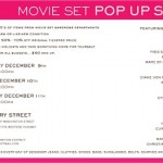Movie Set Pop Up Shop in NYC