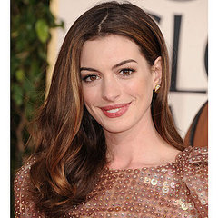 Get The Look: Anne Hathaway At The 2011 Golden Globes