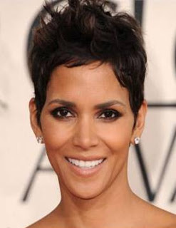 Get The Look: Halle Berry At The 2011 Golden Globes