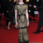Get The Look: January Jones At The 2011 SAG Awards