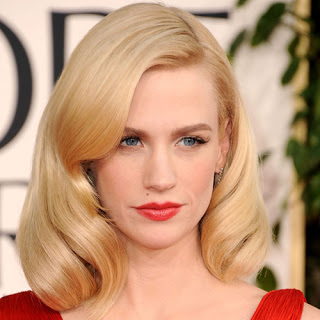 Get The Look: January Jones At The 2011 Golden Globes