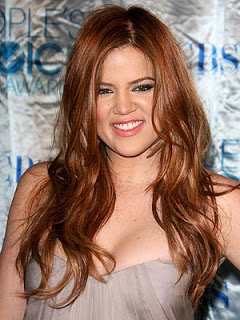 Khloe Kardashian's New Red Hair