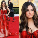 Get The Look: Mila Kunis At The 2011 SAG Awards