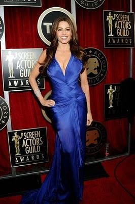 Get The Look: Sofia Vergara At The 2011 SAG Awards