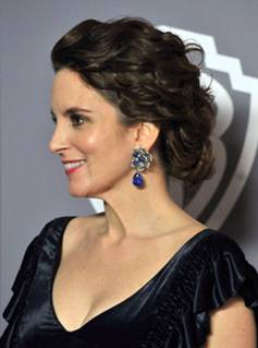 Get The Look: Tina Fey At The 2011 Golden Globe Awards