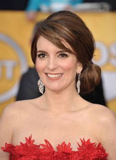 Get The Look: Tina Fey At The 2011 SAG Awards