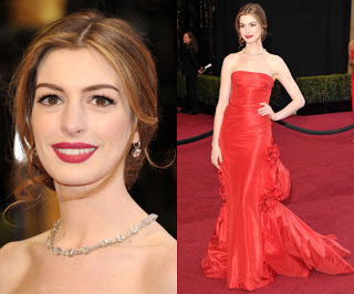 2011 Oscars Makeup: Anne Hathaway