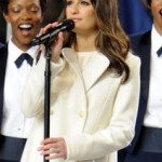 Get The Look: Lea Michele's Hairstyle At The Superbowl