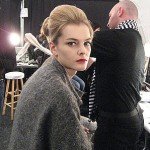 Pamella Roland Fall 2011 Backstage Beauty: China Doll Meets Holly Golightly