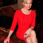 Renee Zellweger Rocks A Red Carolina Hererra Creation