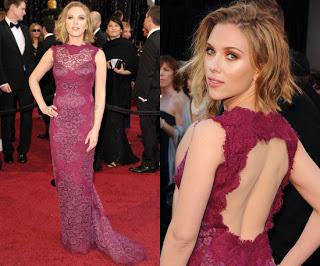 2011 Oscars Makeup: Scarlett Johansson