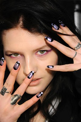 Tux Luxe Nails At Ruffian!