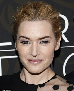 Kate Winslet's Hairstyle At The 'Mildred Pierce' Premiere