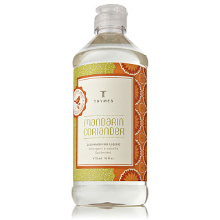 Making The Mundane Glamorous (Glamdane): Thymes Mandarin Coriander Dishwashing Liquid