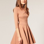 ASOS Tailored Fit And Flare Dress